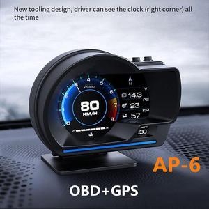 Car HUD Display OBD+GPS Speedo
