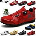 Cungel MTB Radfahren Schuhe männer turnschuhe frauen hinzufügen SPD pedal set 2019 Fahrrad Schuhe Non-Slip Bike Racing Schuhe sapatos de ciclismo