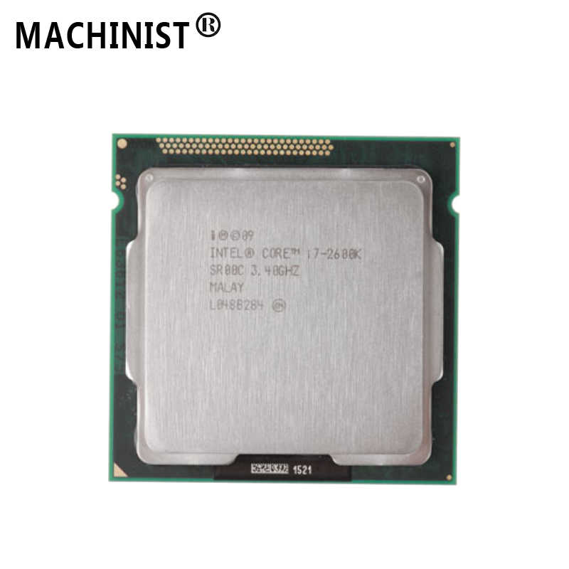 Intel Core I7 2600K LGA 1155, 3.4 GHz, 8M L3 Cache