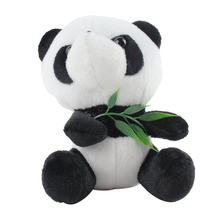 Panda Doll Plush Toy With Suction Cup Panda Hug Bamboo Doll Birthday Gift Wedding Gift Pendant(China)