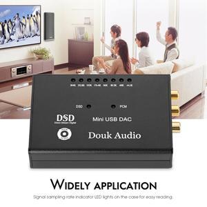 Image 5 - Douk audio XMOS XU208 USB DAC Audio Decoder SPDIF Converter Digital Interface Headphone Amplifier XU208 DOP64 DSD256 PCM384K