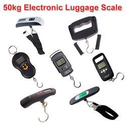 Balance de bagage électronique numérique 50kg/110lb balance de valise Portable manipulée sac de voyage