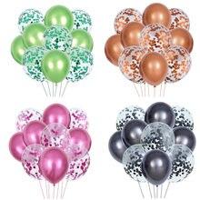10 шт Металлические цвета латексные воздушные шары 12 дюймов