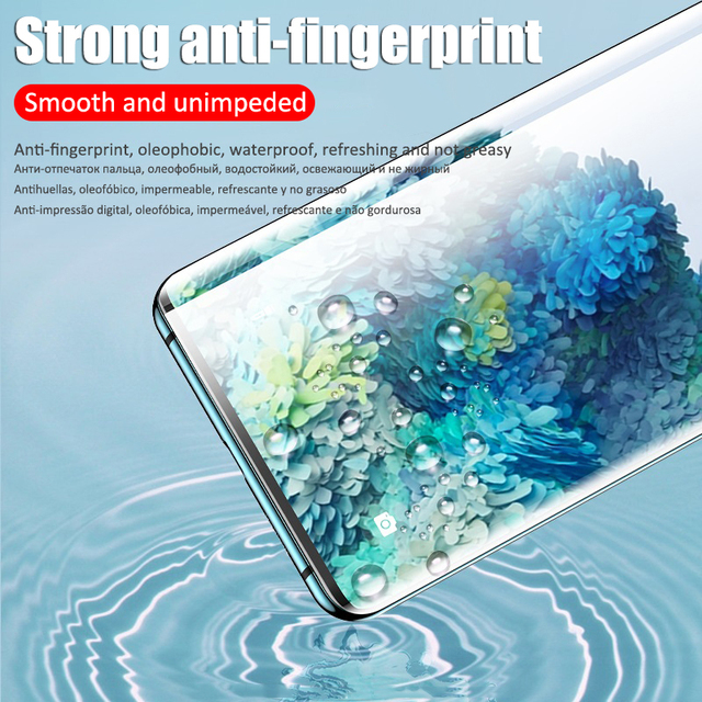 Curved Hydrogel Film For Samsung Galaxy S21 S20 Fe Ulrtra S10 S9 S8 Plus Screen Protector A52 A21s A72 A32 M31s M51 Not-Glass 5