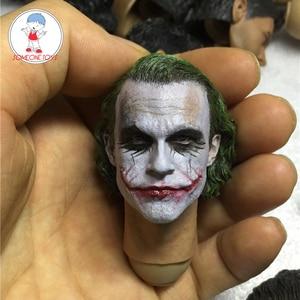Image 1 - 1/6 Scale Male Joker Head Sculpt MJ12 Joker Newest Headplay for DIY Heath Ledger Figures