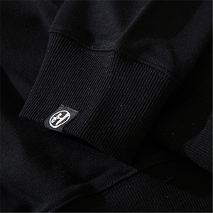 Image 5 - Bebovizi 2019 Men Streetwear Hip Hop Pullover Sweatshirt Demon Print Harajuku Pullover Cotton Japanese Hoodie Street Wear