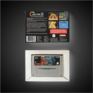 Image 2 - Contra iii as guerras alienígenas cartão de jogo de ação versão eur com caixa de varejo