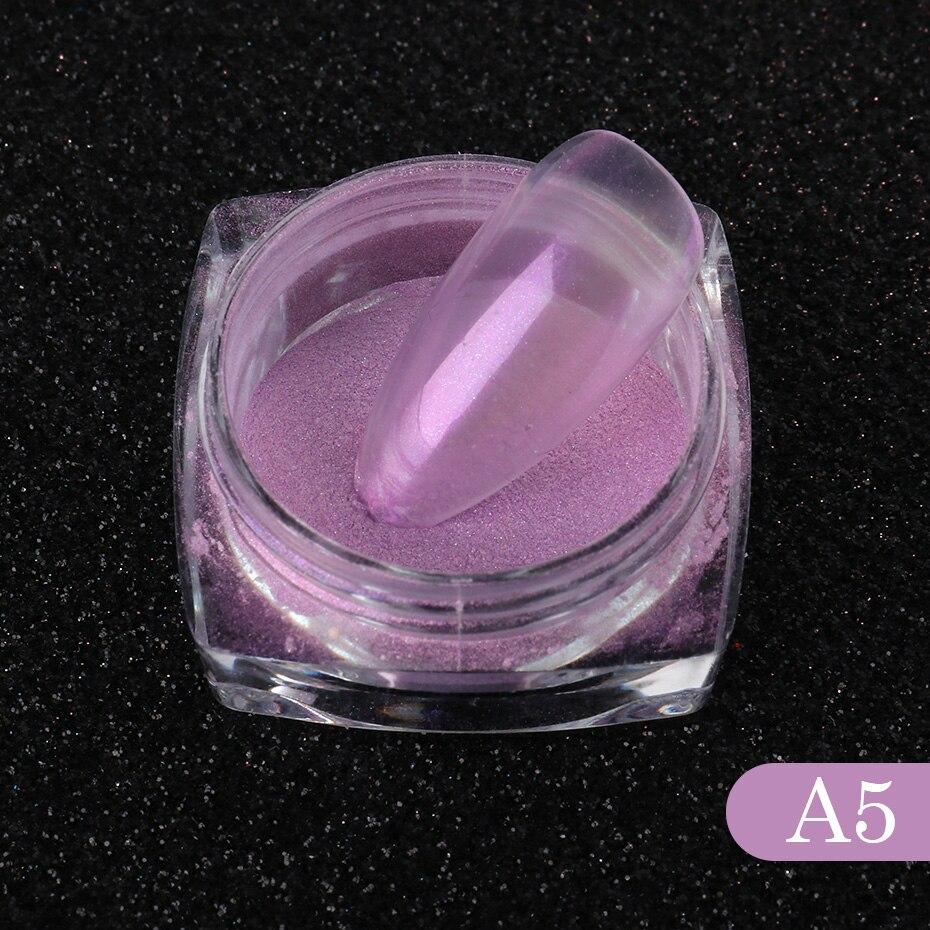 Nail Glitter Aurora Powder Mirror Pearl Chrome Pigment Dust Nail Art Decoration Polishing Mermaid Dip Powder (7)