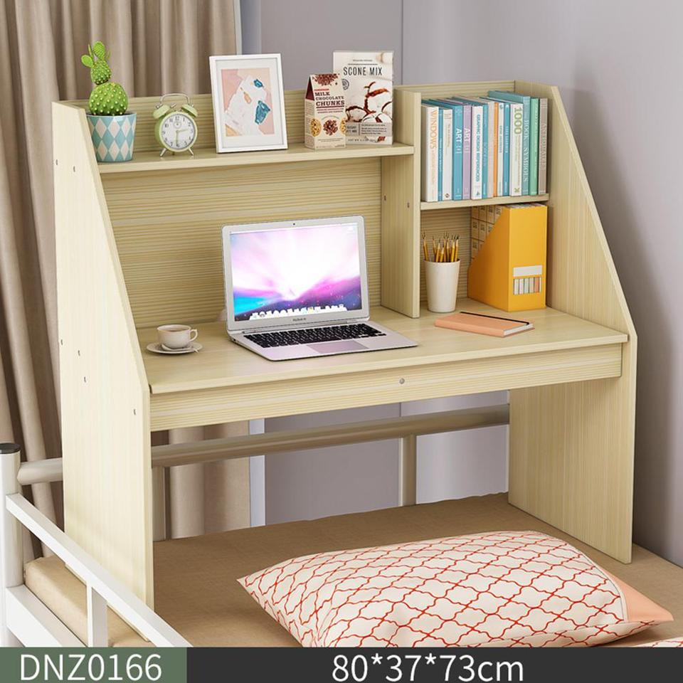 US $44.44 44% OFFHiMISS Wooden Computer Table Space Save Hidden Flip  Storage Desk for Bed Study Notebook Laptop Desk TableLaptop Desks -  AliExpress