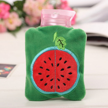 Cute Fruit Hot Water Bottle Hot-water Bag Cartoon Hand Warmer Portable