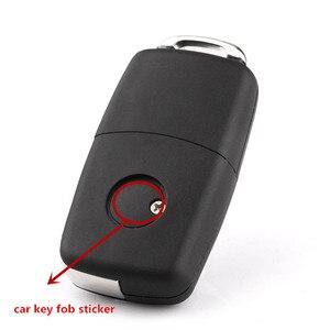 10 шт. 14 мм Черный Синий Автомобильный Брелок дистанционного управления с ключом эмблема значок радио Кнопка стикер Замена автомобиля Стайлинг Аксессуары|Наклейки на автомобиль|   | АлиЭкспресс