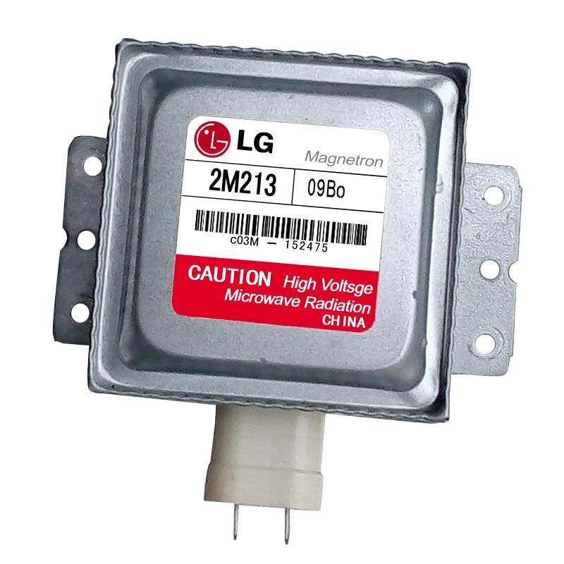 1PCS 2M213 Microwave Oven Magnetron For LG 2M213-09B 2M213-09B0 (Around The Six-hole Transverse Universal)