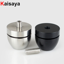 HIFI Audio Speakers Amplifier Chassis Stainless Steel/Aluminum Alloy Shock Absorber Foot Pad Feet Base Nail Spikes Stands G1023