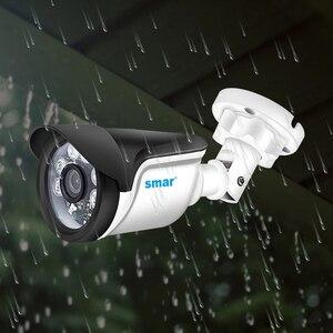 Image 4 - Smar 4CH 1080N 5 في 1 AHD DVR عدة نظام الدائرة التلفزيونية المغلقة 2 قطعة 720P/1080P IR كاميرا AHD في الهواء الطلق مقاوم للماء يوم وليلة الأمن كاميرا عدة