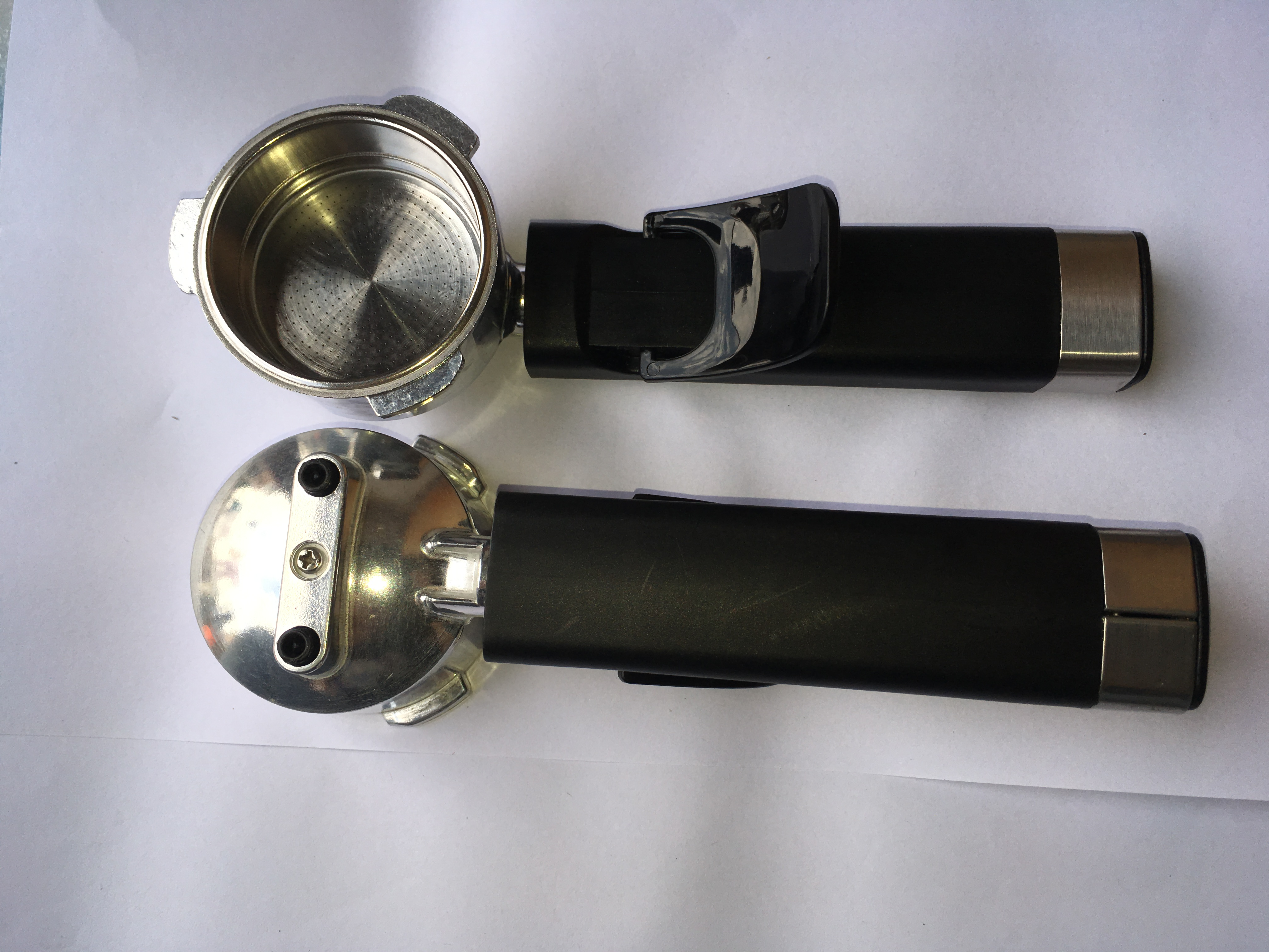 Diameter Of 60 Mm 15 Bar Espresso Coffee Maker Parts Filter Holder For Espresso Coffee Marker Type With 2 Cup Filter