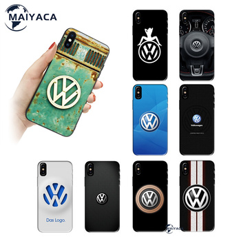 Trend Cute Volkswagen Cellphone Case Cover For Iphone 11 12 Pro Max 7 8 Plus X Xs Max Xr image