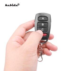 Image 1 - Kebidu 433mhz controle remoto inteligente controlador elétrico para a substituição da porta da garagem cloner atacado