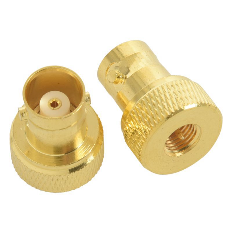 5x BNC Female to Female F//F Coupler Coupling Joiner Adapter Gold Plated CCTV