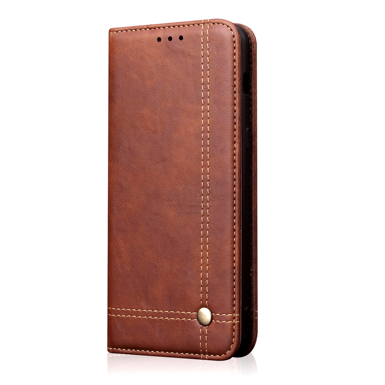 Hc058e35b5894475b978a2291c8646391P Luxury Retro Slim Leather Flip Cover For Xiaomi Redmi Note 8 / 8T / 8 Pro Case Wallet Card Stand Magnetic Book Cover Phone Case