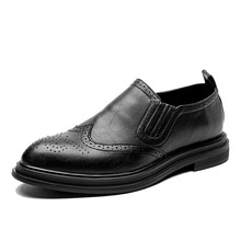 2020 chaussures habillées pour hommes faites à la main Style richelieu Paty cuir chaussures de mariage en cuir chaussures formelles Oxfords
