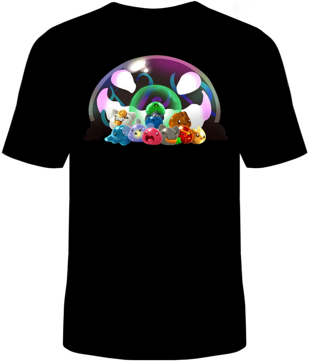 <font><b>Slime</b></font> <font><b>Rancher</b></font> T-<font><b>Shirt</b></font> Unisex Mens Cotton <font><b>Slimes</b></font> Tarr Video Game Classic Unique Tops TEE <font><b>Shirt</b></font> image