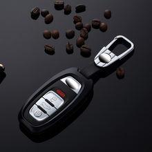 Автомобиль из алюминиевого сплава ключ держатель чехол для брелка