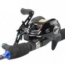 Fishing Wheel Metal Low-Profile Reel for Fishing Long Shot Fishing Wheel Speed Ratio: 7.2:1 8 1 1 speed metal cup water drop fishing wheel fishing gear fishing reel