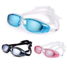 New sale Swimming goggles men Anti-Fog professional Adult silicone Waterproof arena swim eyewear Sea glasses