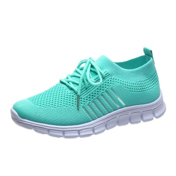Fashion Women's Sneakers Mesh Casual Lace-up Sport Shoes Women Running Shoes For Men Lovers Breathable Shoes Sneakers 10