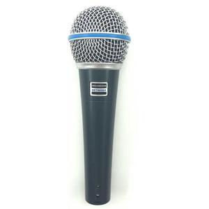 Image 3 - באיכות גבוהה גרסת Beta 58a ווקאלי קריוקי כף יד דינמי Wired מיקרופון BETA58 Microfone מייק Beta 58 A Mi
