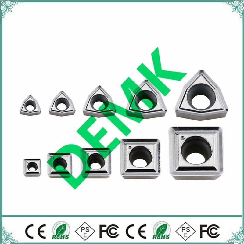 For Aluminum Alloy SPMG050204 060204 07T308 SPMG090408 WCMX030208 040208 WCMT050308 WCMT06T308 U Drill Fast Drill Carbide Insert