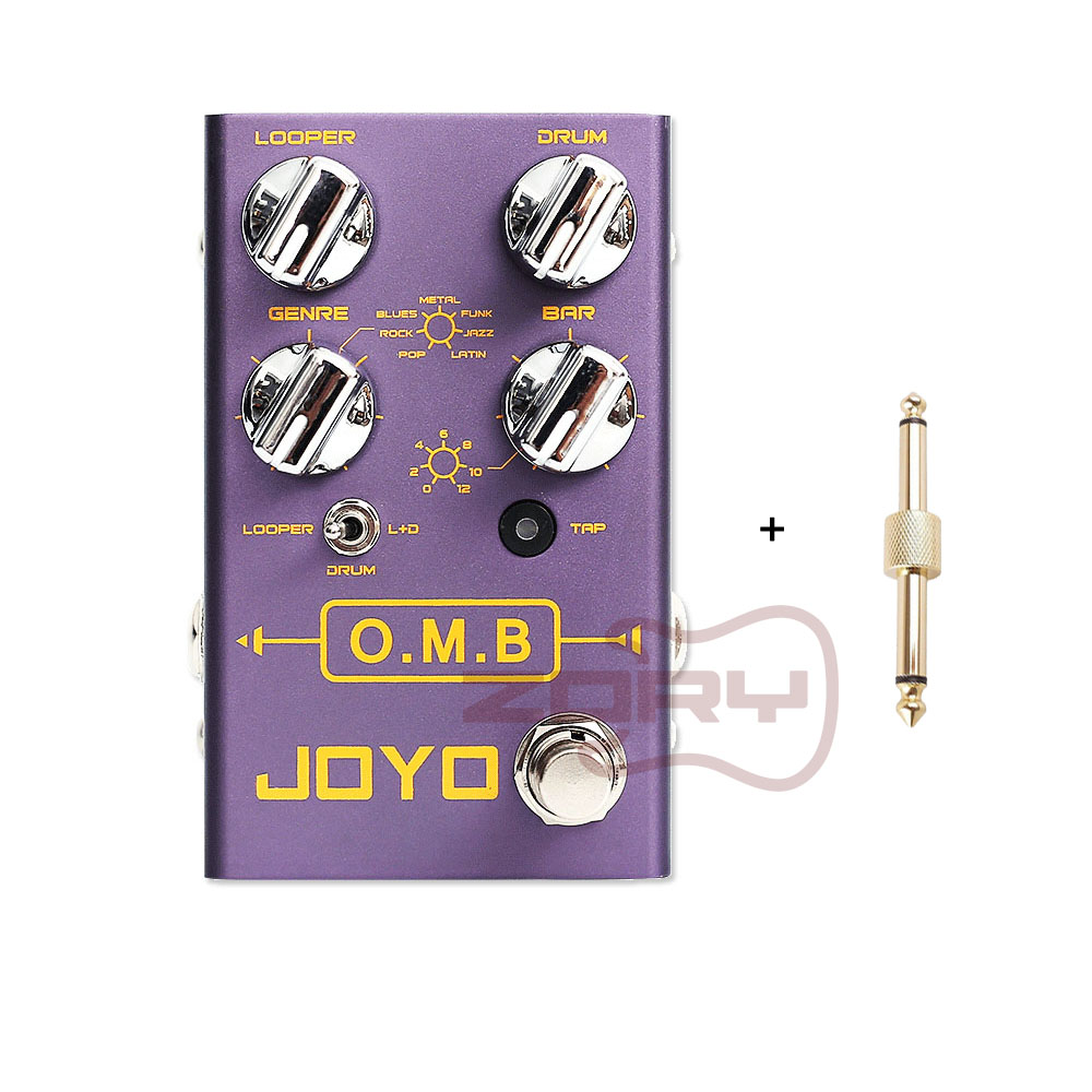 Joyo R-06 O.M.B LOOPER +drum mode Guitar Effects auto-align Count-In Guitar Parts Accessory Guitar Effects