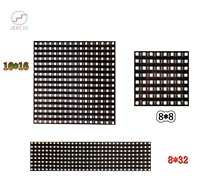 JERCIO WS2812B  pixel module Led Panel 8x8 / 8x32 /16x16/ matrix3535 chip SK6812 IC individually addressable DIY DC5V