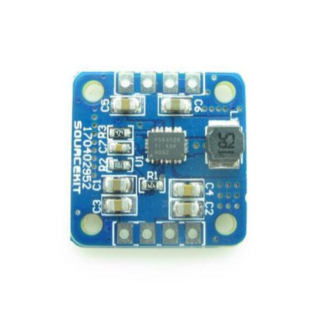 TPS63020 Boost Buck Power Supply Module Converter 2.5V 3.3V 4.2V 5V Output