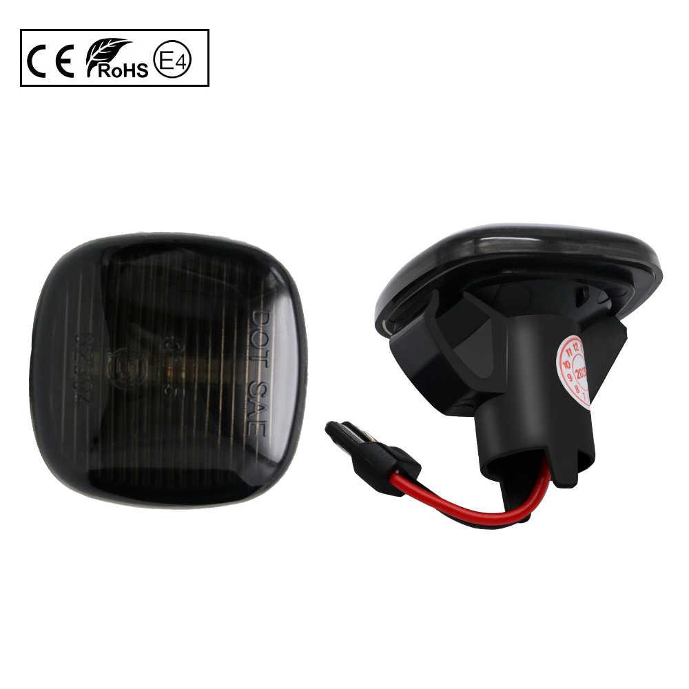 2x Skoda Fabia 6y2 de 4 LED lado Repetidor indicador de señal de vuelta luz bombillas