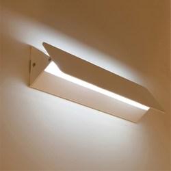 Oświetlenie W górę iw dół regulowana lampa ścienna nowoczesna biała dekoracja kinkiet do domu kryty 6W led aluminiowa kinkiet