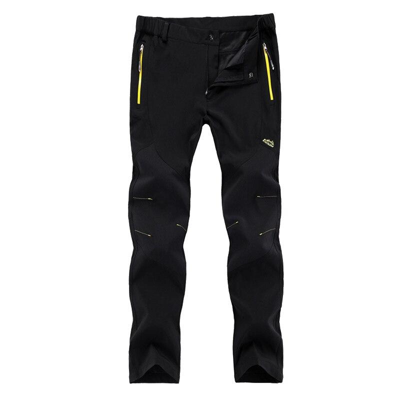 TRVLWEGO уличные мужские эластичные быстросохнущие брюки ультра-легкие походные альпинистские Кемпинг ветрозащитные водонепроницаемые брюки...