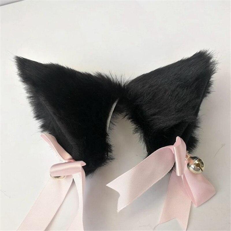 Европейская и американская мода Рождественская шпилька для волос колокольчики бант кошачьи ушки аксессуары для вечерние