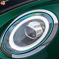 2 шт., Защитная пленка для автомобильных фар, самоисцеляющая невидимая наклейка из ТПУ для MINI Cooper R55 R56 R60 F54 F55 F56 F60