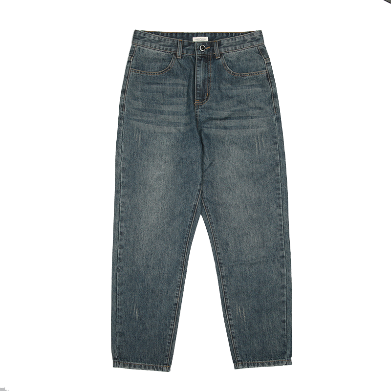 FaHQ611 2019 New Autumn Winter Fashion Casual  Denim Pants Denim Men Mens Fashions Hip Hop