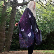 Gothic Pashmina Shawl Women Print Square Scarf Fashion Long Poncho Thin Purple 160cm Echarpe Femme