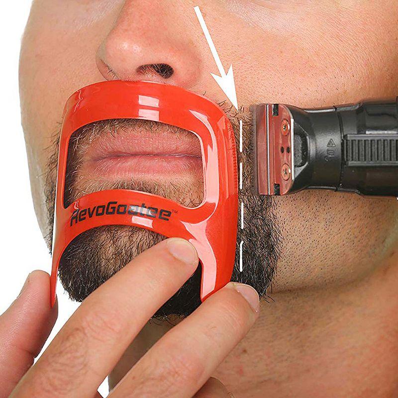 Salon Mustache Beard Styling Template Shaving Shave For Beard Shape Style