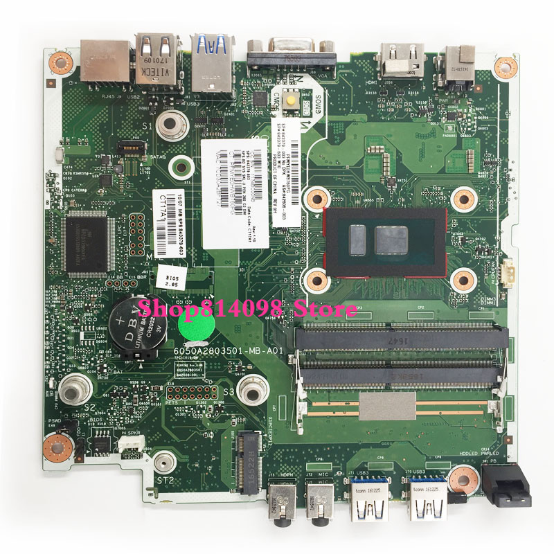 I3 CPU 260 G2 Motherboard For HP 260 G2 842606-002 843379-603 843379-003 Motherboard 100% Test Ok