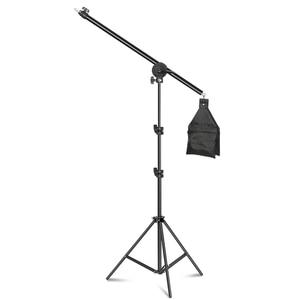 Image 1 - Rotatable Aluminum Adjustable Tripod Boom With 2m Light Stand Sandbag for Studio Photography Video