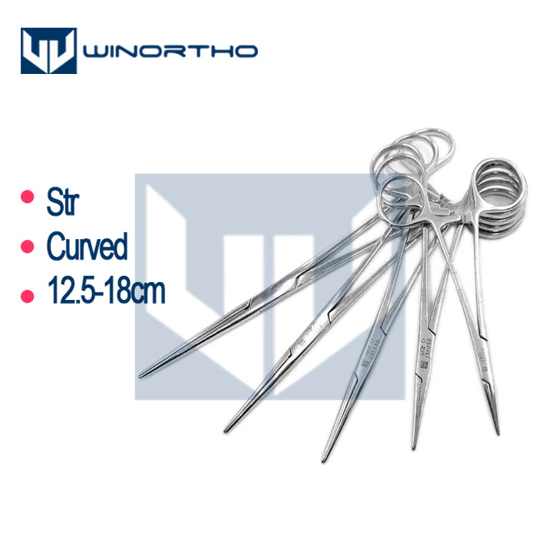 Halstead Mosquito Crile Artery Forceps Str Cof 125mm 140mm 160mm 180mm Veterinary Instruments Spencer Wells Artery Forceps