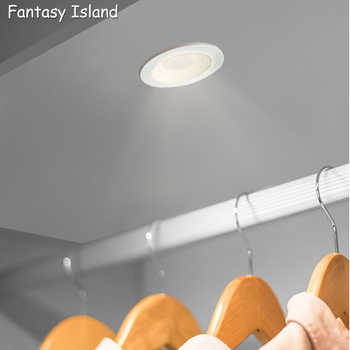 Fantasy Island led downlight lamp 3w 5w cob led spot AC85-265V ceiling recessed downlights round led panel light