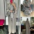 Vestido 2019 Top New Dubai Abaya Muçulmano Vestido Maxi Mulheres Robe Bordado Cardigan Aberto Paryer Ramadan Para Mulheres Roupas Da Moda
