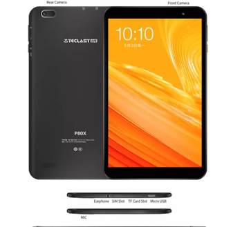 Teclast P80X 8inch 4G Tablet Android 9.0 SC9863A IMG GX6250 Octa Core 1.6GHz 2GB RAM 32GB ROM Dual Cameras Tablet pc image