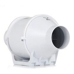 4 zoll 100mm Hause Inline-rohrventilator Belüftung Tube Fan Vent Luft Gebläse Exhaust Fan 220V Booster Turbo fan für Haushalt Wachsen Zelt