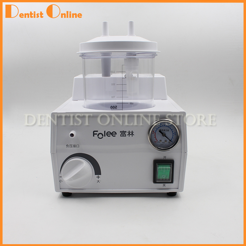 Portable Dental Medical Emergency Vacuum Phlegm Suction Unit Electric Free Shipping